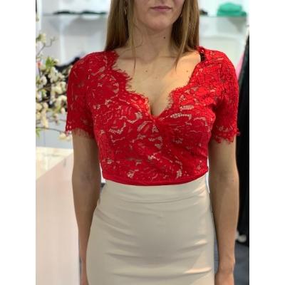 Body-blouse kant.